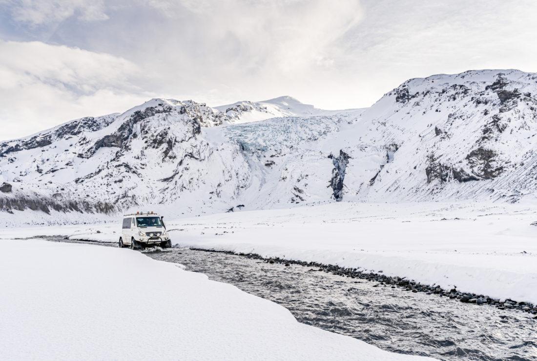 Adventure tour in Iceland