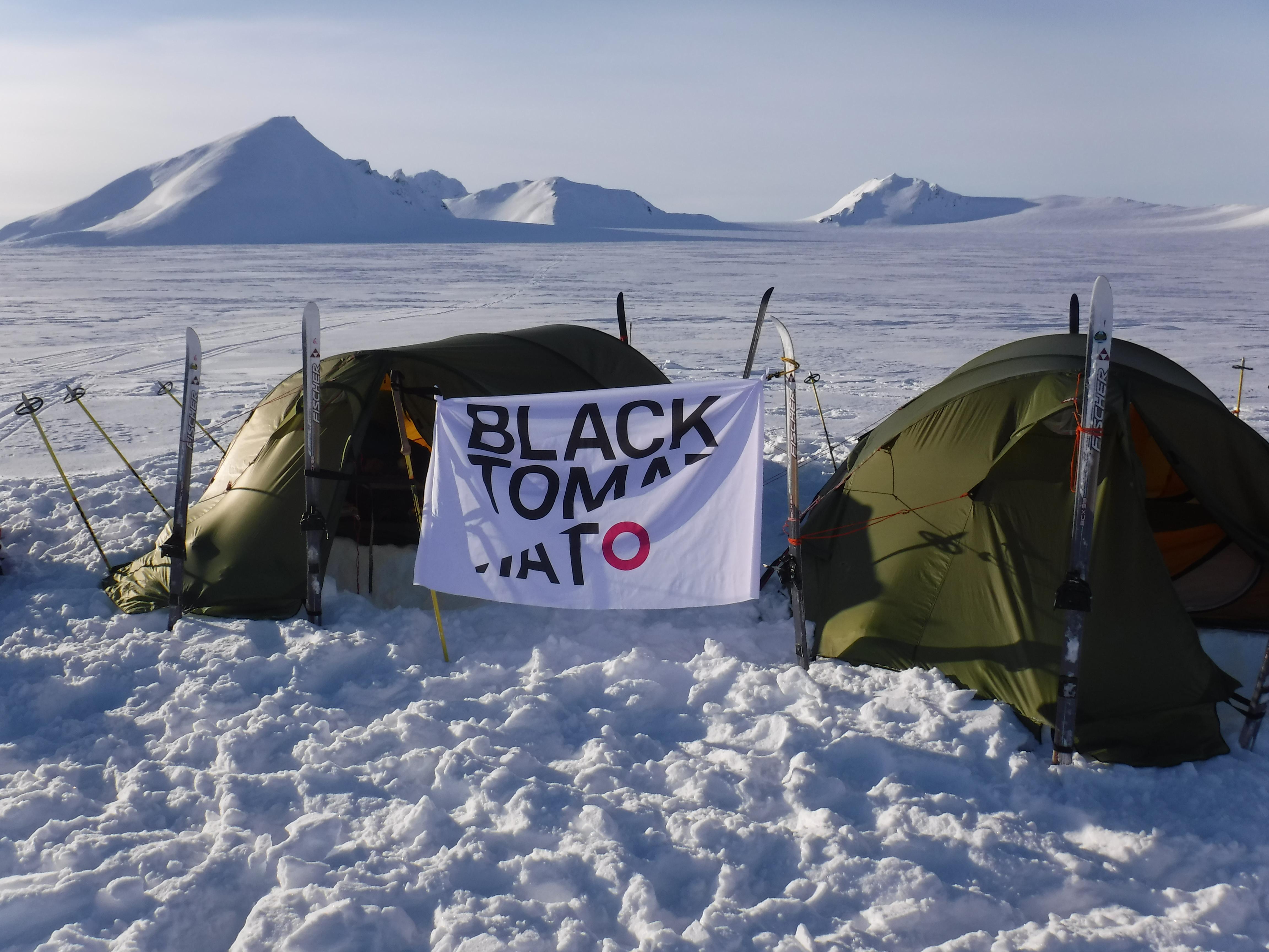 Norway Svalbard Camping