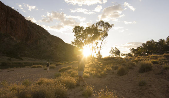 Larapinta Trail in the West MacDonnell Ranges National Park