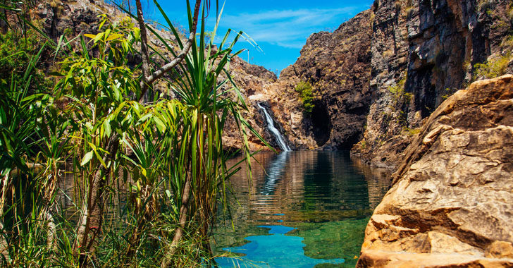 Waterfalls in Australia's Northern Territory