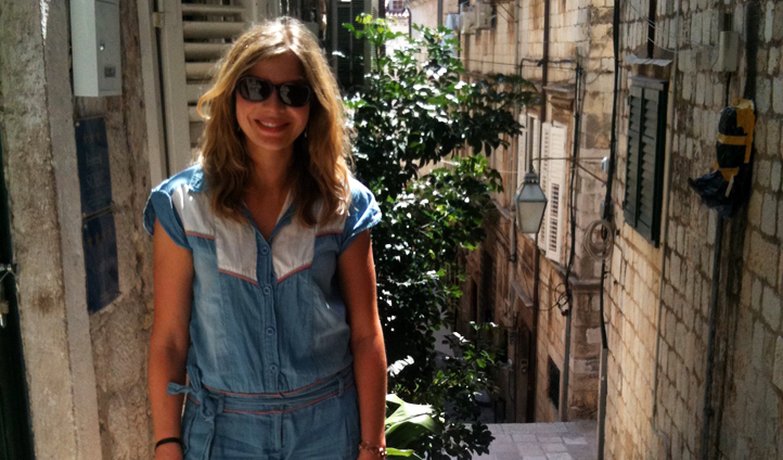 Anna Hart in Croatia