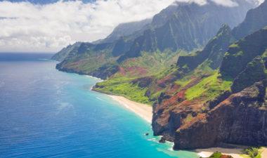 Kauai landscapes, Hawaii