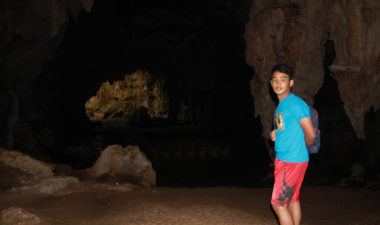 A Cave guide from the Northern Philippines