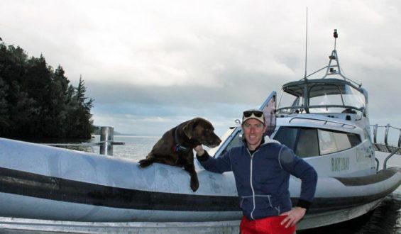 Simon Jolly in New Zealand