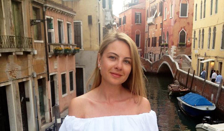 Alice Edwards in Venice