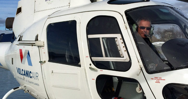 New Zealand helicopter pilot