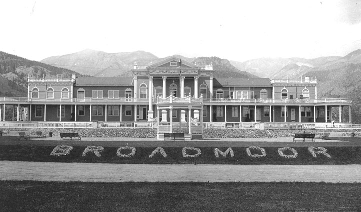 The original Broadmoor Casino 1892