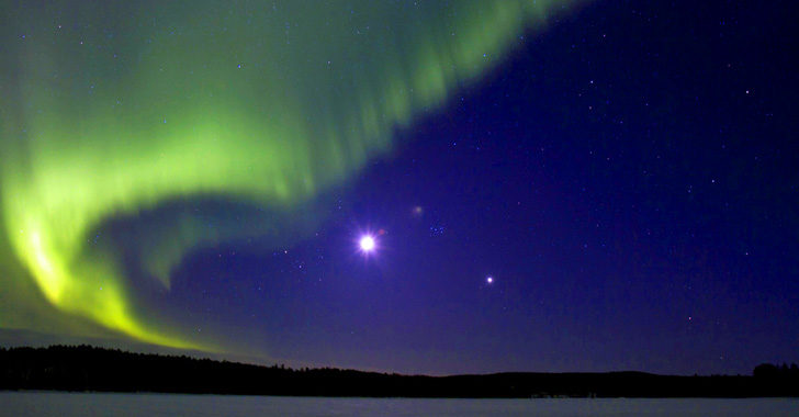 Luxury holidays to view the Northern Lights in Lulea, Swedish Lapland