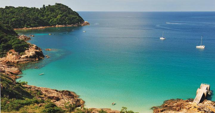 East Malaysian unspoilt beach