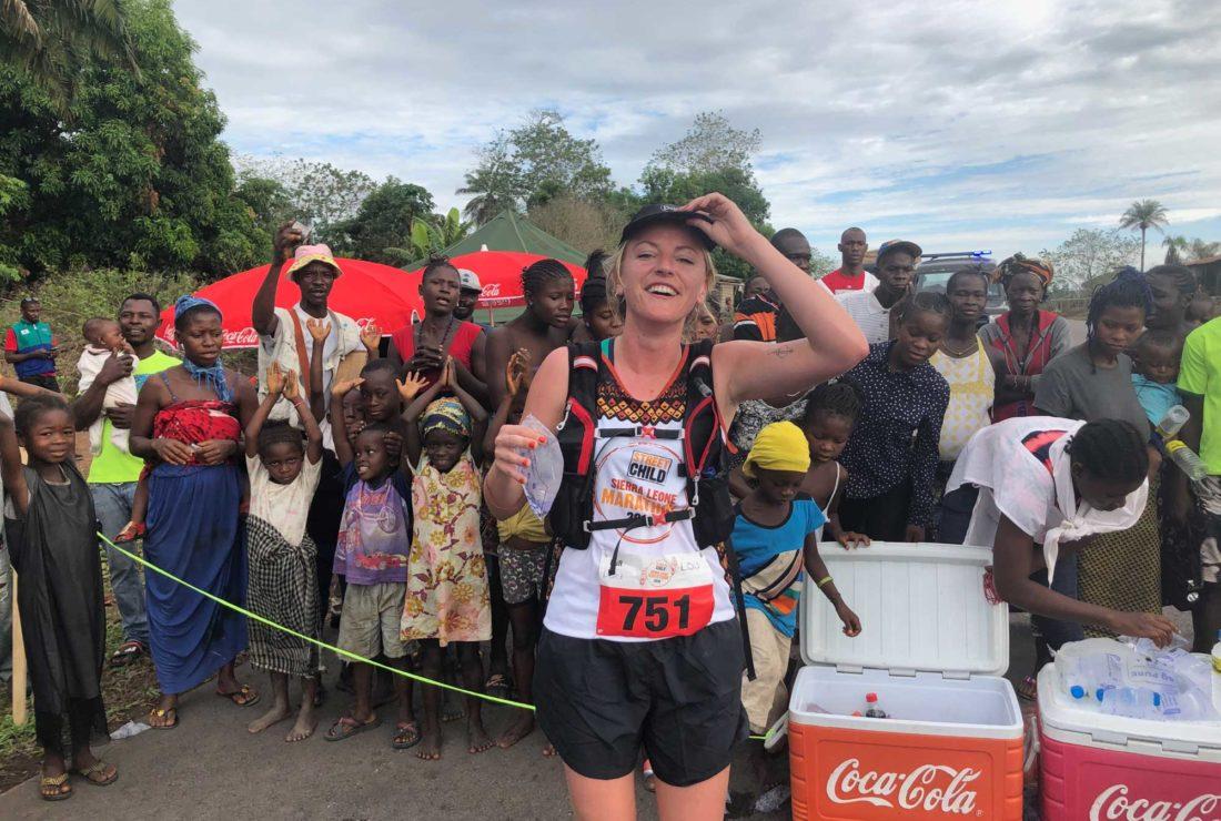 Louise Sierra Leone marathon