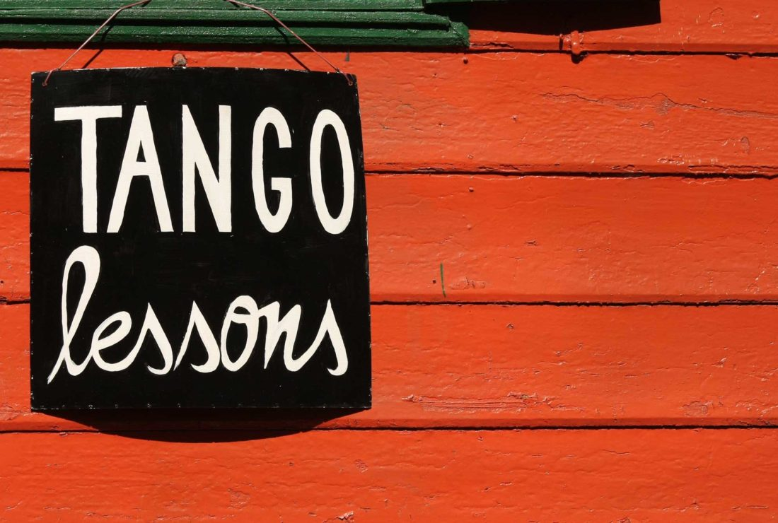Tango lessons in Argentina