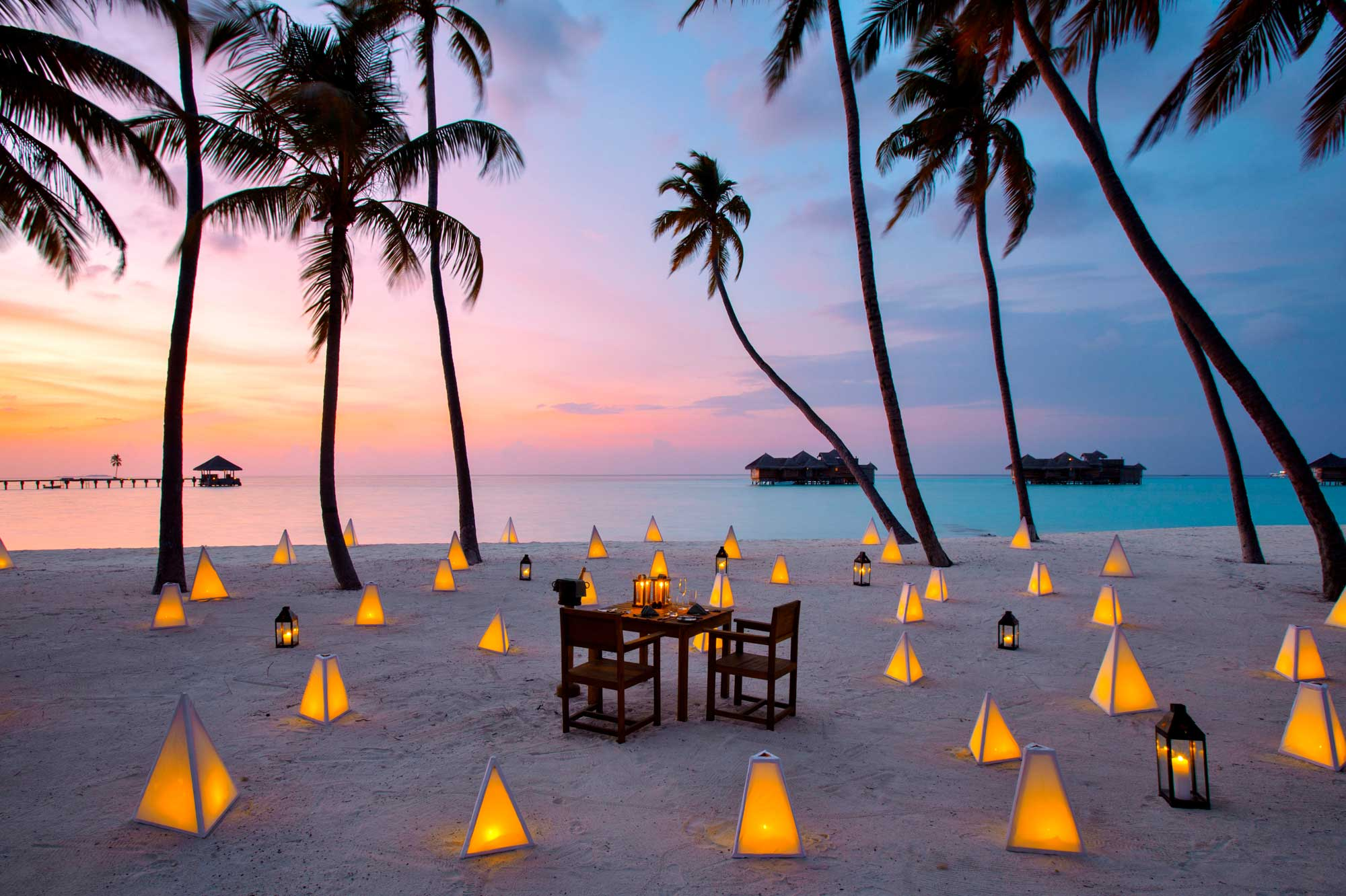 Luxury honeymoons in the Maldives
