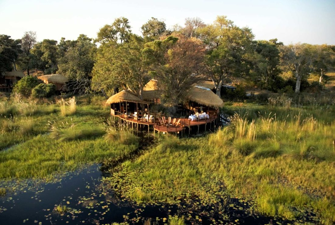 Stay at Sanctuary Baines' in Botswana