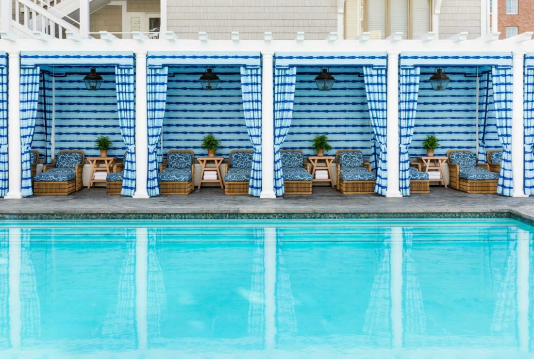 Swim in the pool at Shutters on the Beach