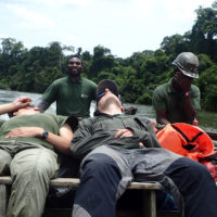 Congo rafting adventure