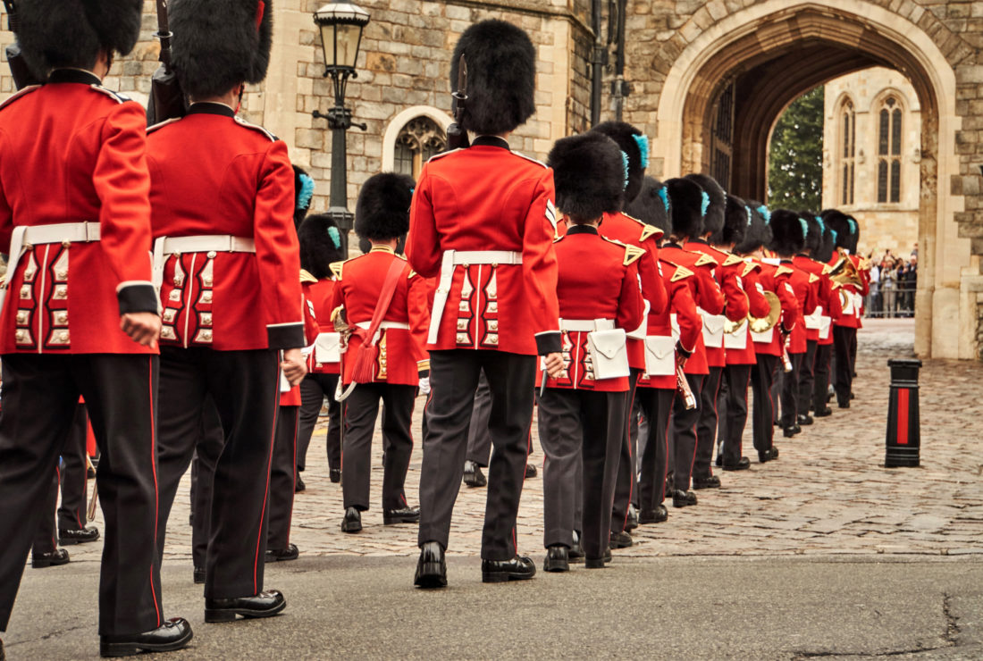 London, Change of Guards
