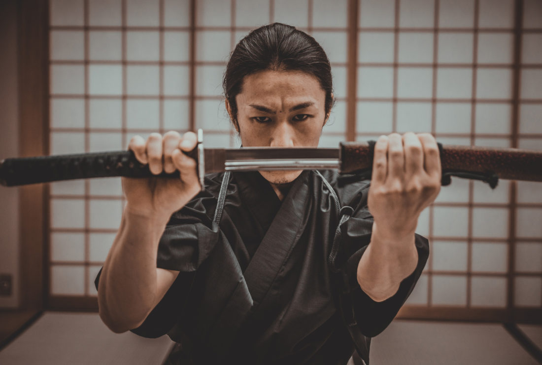 Ninja lesson in Tokyo