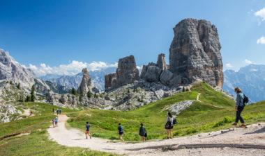 Italian mountain hikes