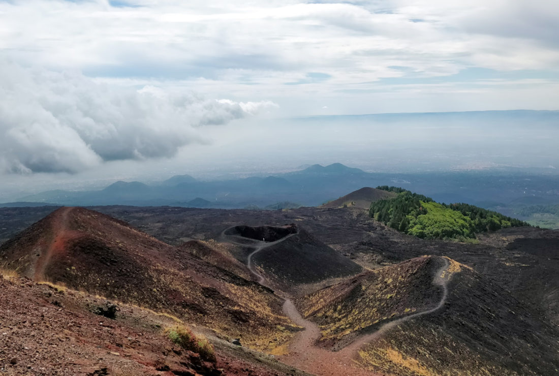 Hiking Mount Etna in Sicily