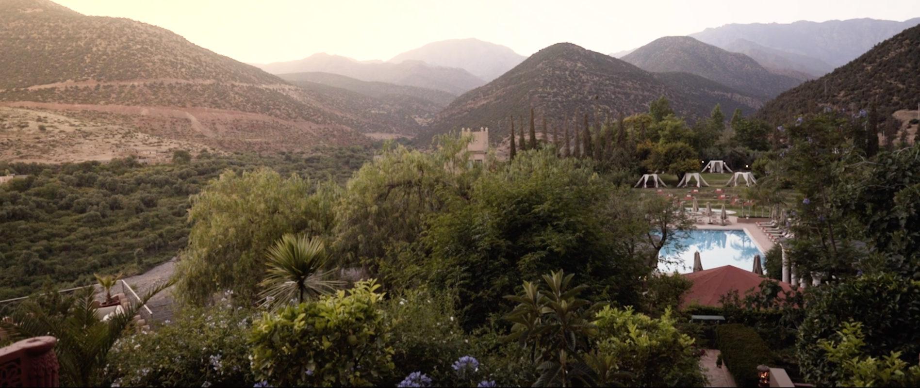 Kasbah Tamadot, Morocco, Atlas Mountains