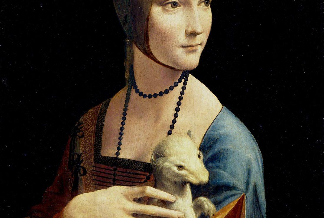 Lady with the Ermine da Vinci