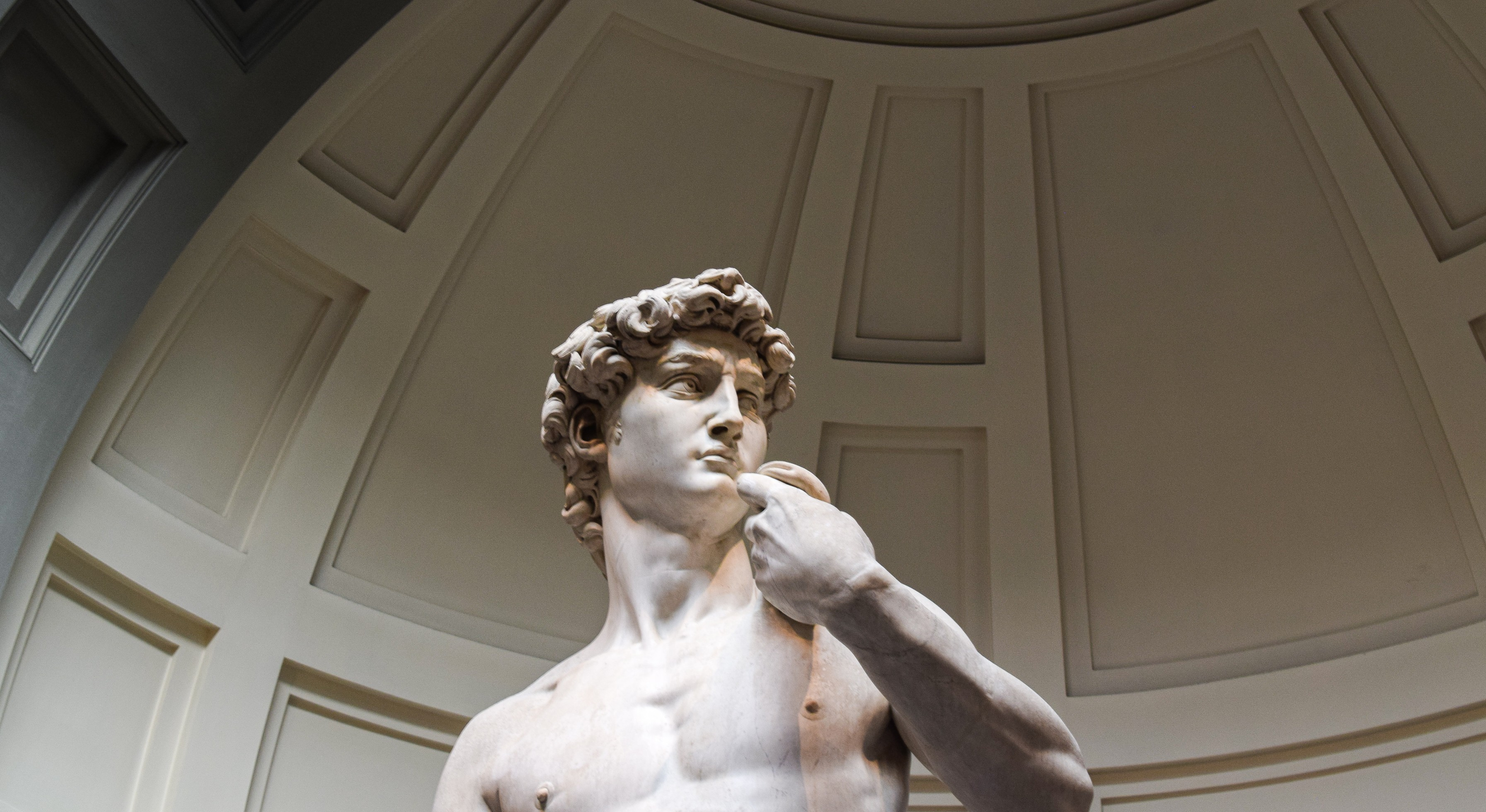 See the artworks of Michelangelo