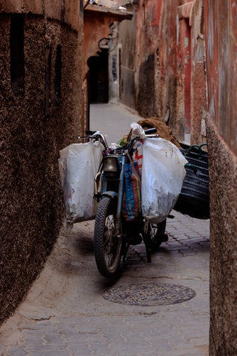 Sidecar experience Morocco