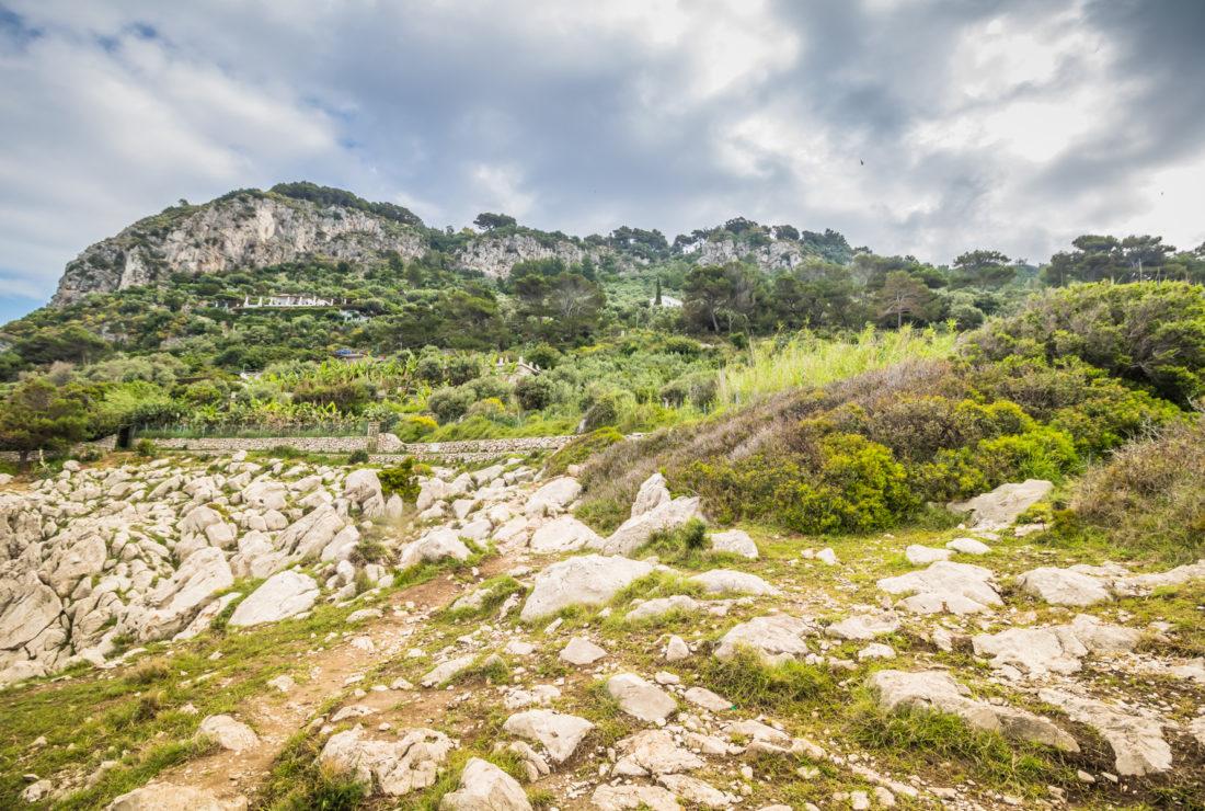 Path of Forts, Capri