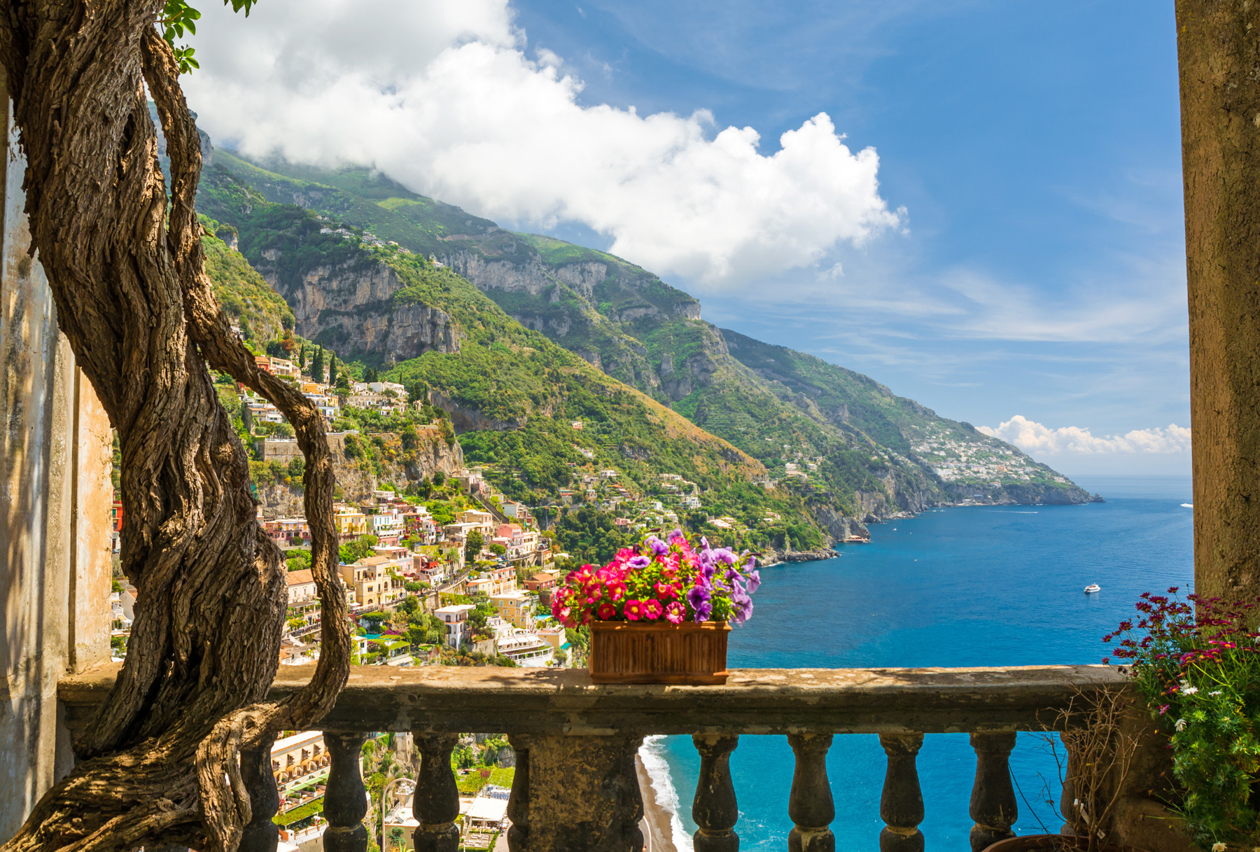 Amalfi Coast honeymoons in Italy