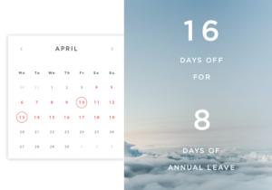 April bank holidays