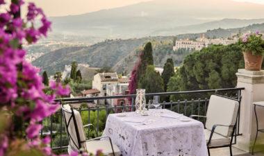Grand Hotel Timeo al fresco dining