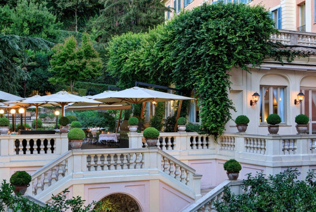 Hotel de Russie in Rome, Italy
