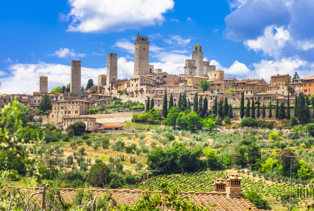 Instagrammable San Gimignano