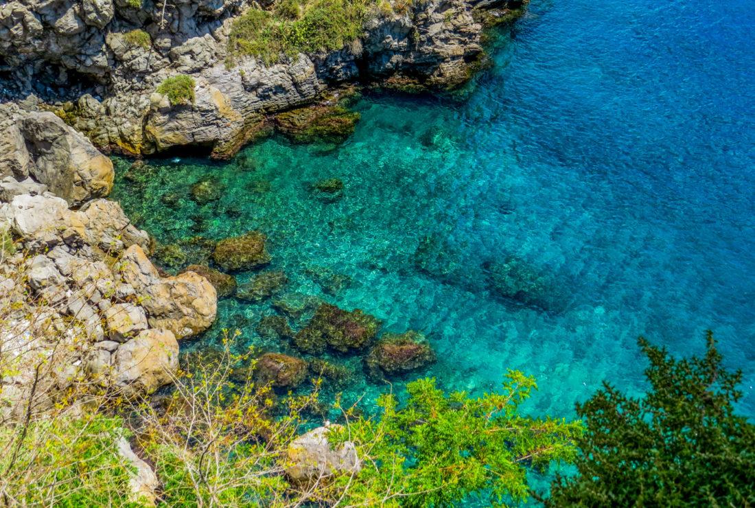 Swimming in the Aeolian Islands