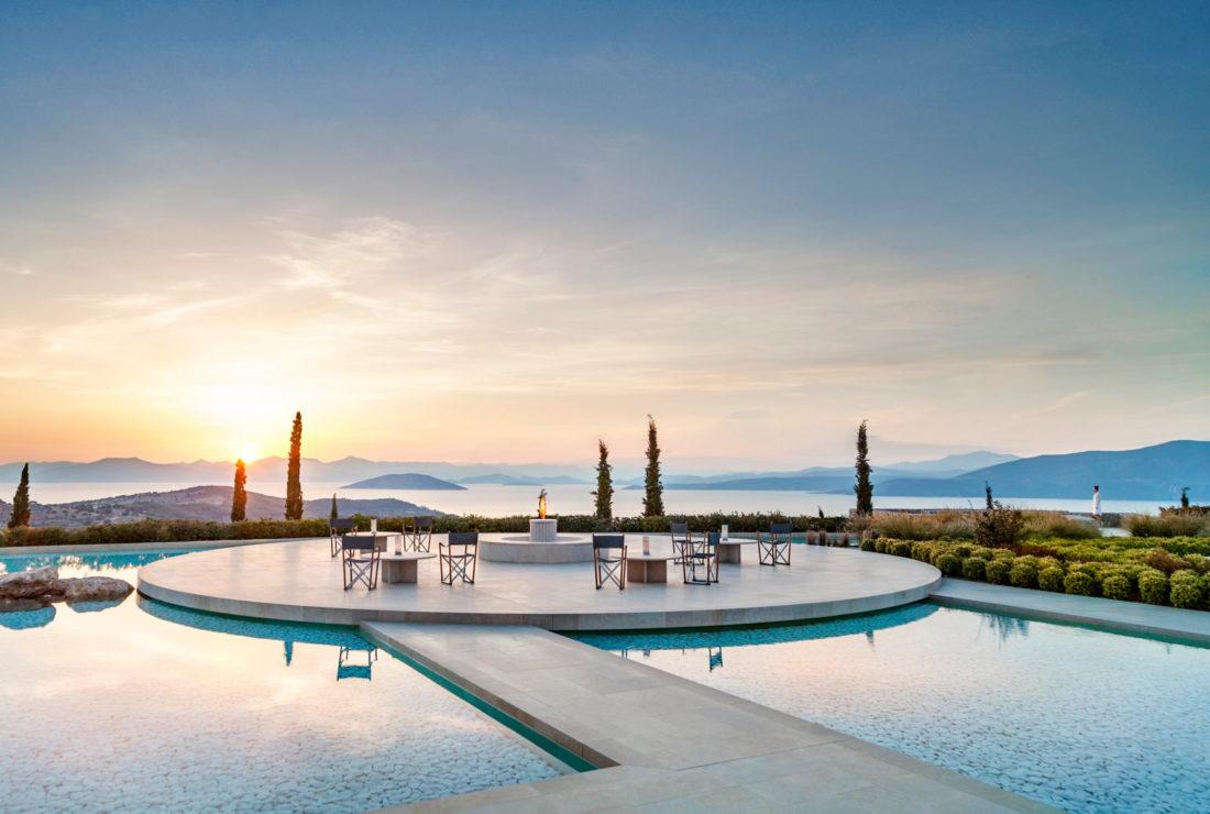 Amanzoe Hotel in Greece