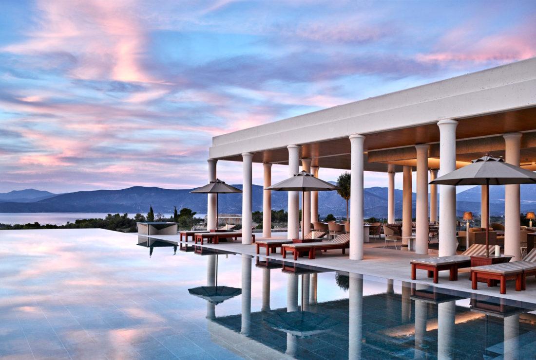 Amanzoe villa in Greece
