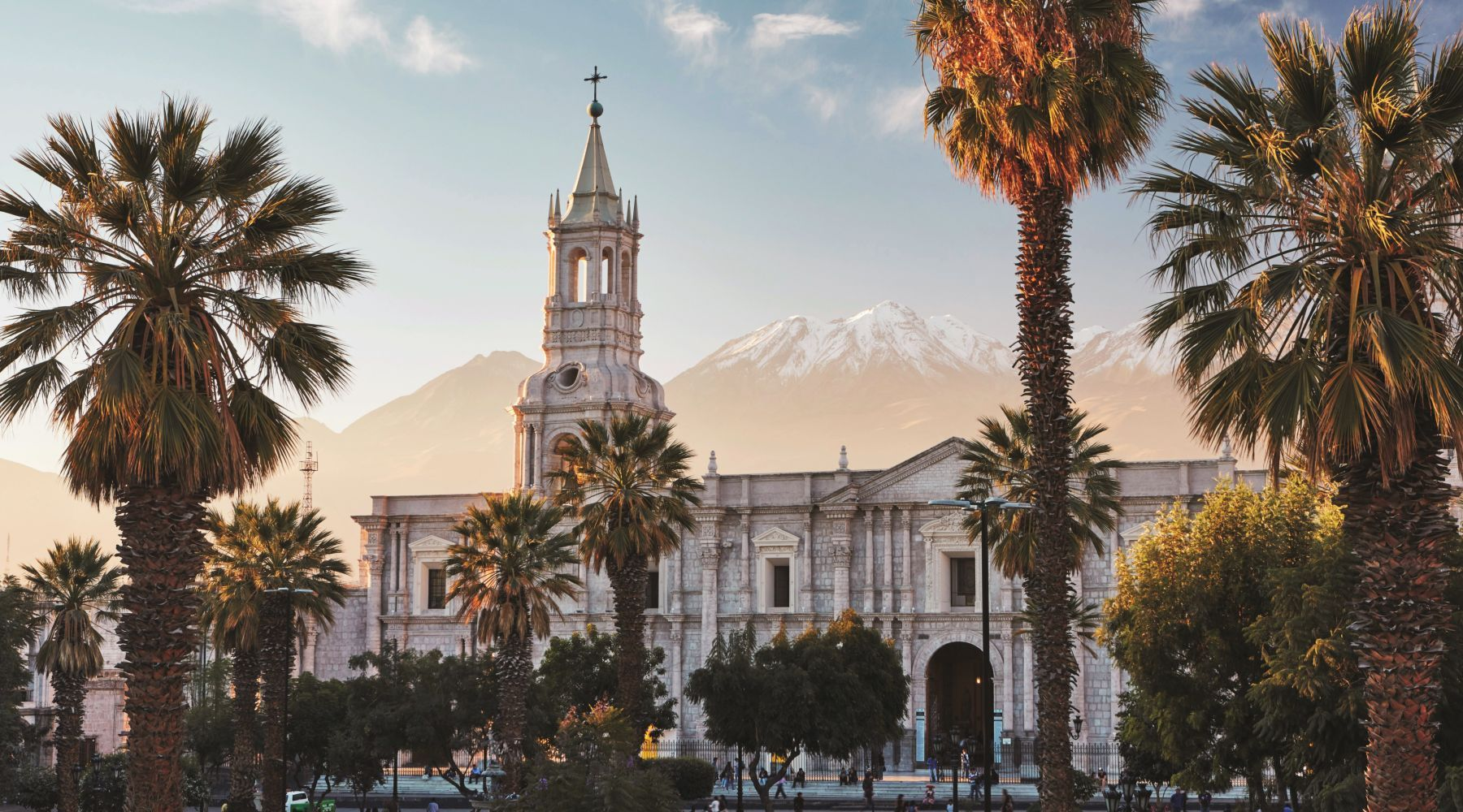 Arequipa's Cathedral in the Plaza de Armas