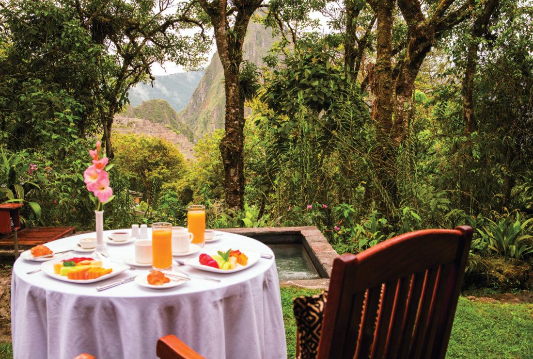 Belmond Santuary Lodge in Peru