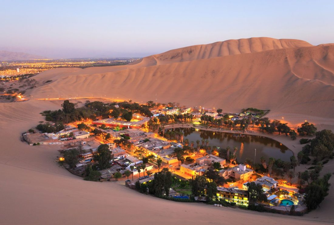 Huacachina in the evening