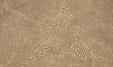 The hummingbird geoglyph