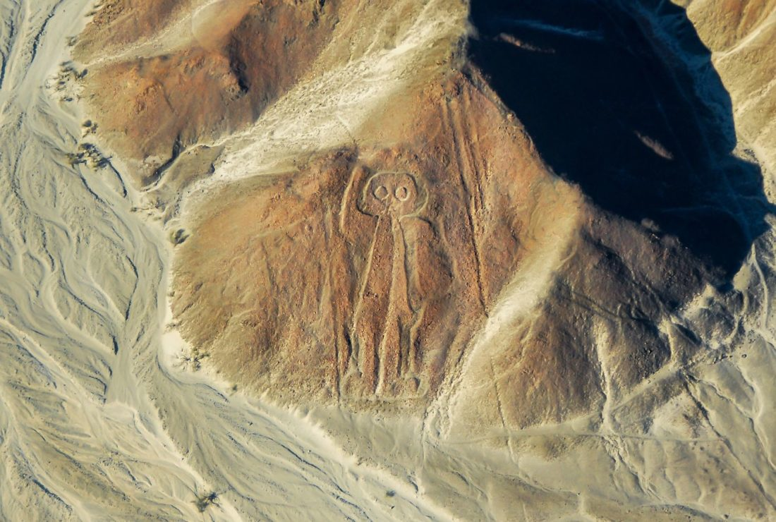 The Nazca Lines Man