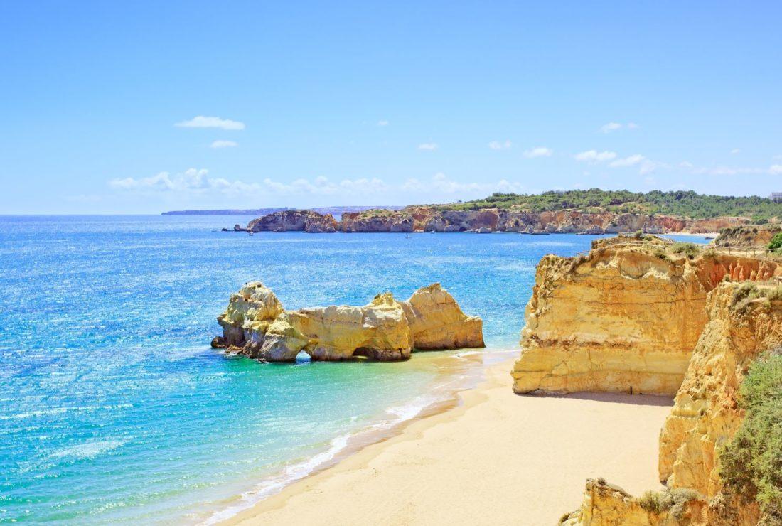 Beach and Rock Foundation, Praia da Rocha Algarve, Portugal