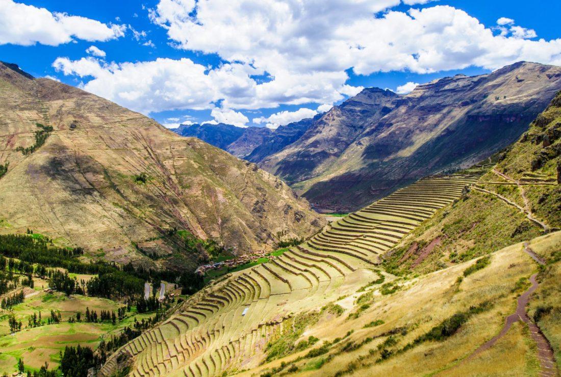 Pisac Sacred Valley landscape
