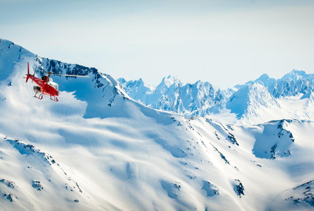 Alaska helicopte