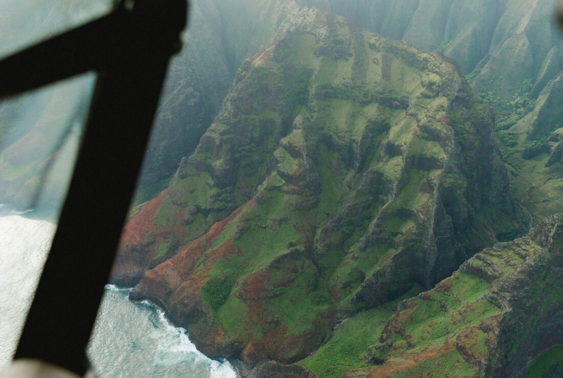 Heli ride in Hawaii