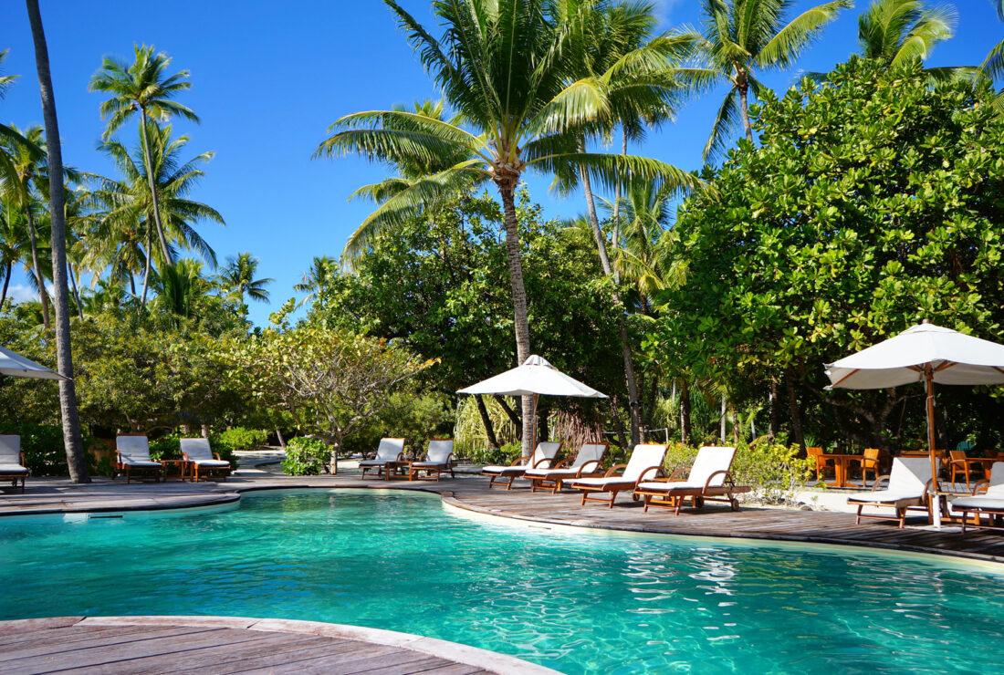 Le Taha'a pool