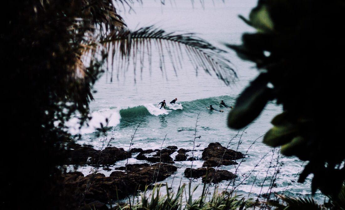 new zealand surfing