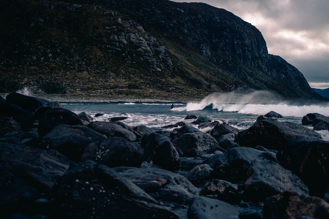 Norway surfing